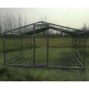 Grand-enclos-pour-poules-tubes-renforcés-38-mm-3x3x2.25m