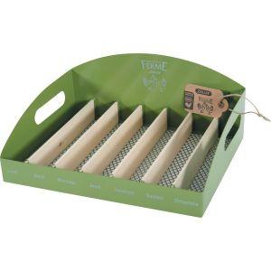 Range-Oeuf-Metal-Vert