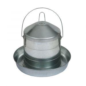 Abreuvoir-poule-en-acier-galvanisé-avec-anse-8L-Gaun