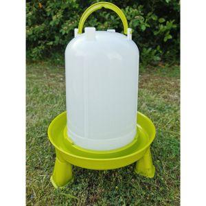 Abreuvoir-poule-à-pieds-en-Bioplastique-végétal-Eco-10L-vue-générale