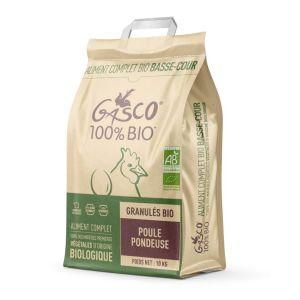 Granulés pour poule pondeuse Bio 10 kg - Gasco