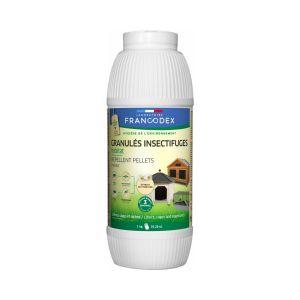 Granulés insectifuges pour poulailler et basse-cour 1kg - Francodex