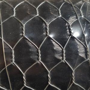 Grillage poule en acier galvanisé triple torsion 25m x 1m épaisseur 1 mm