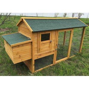 Poulailler Chabo toit shingle jusqu'à 4 poules