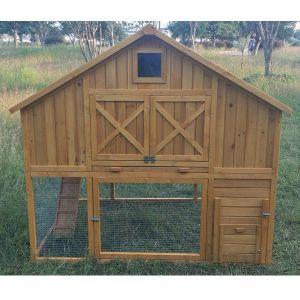 Poulailler-Serama-toit-shingle-jusqu'à-12-poules-avant