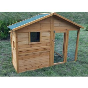 Poulailler-Orava-4-poules-Toit-Shingle