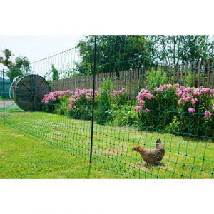 Filet poulailler double pointe vert 25m x 1,12 m PoultryNet - Kerbl