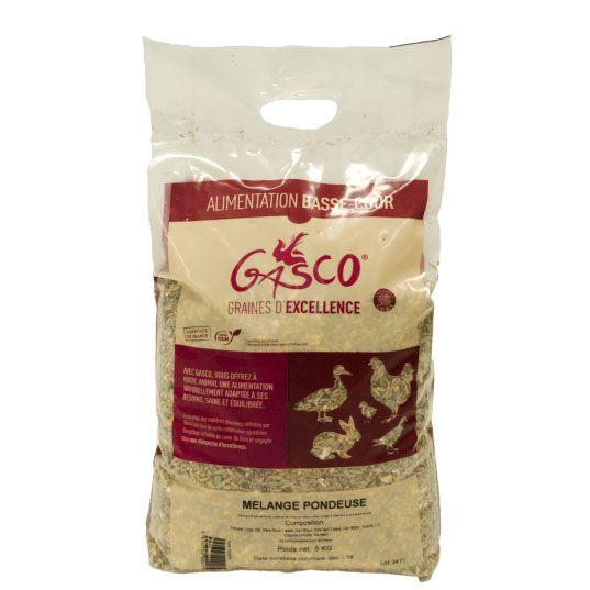 Aliment poule pondeuse Gasco 5kg