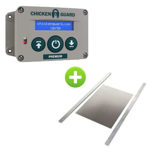 Chickenguard et trappe medium