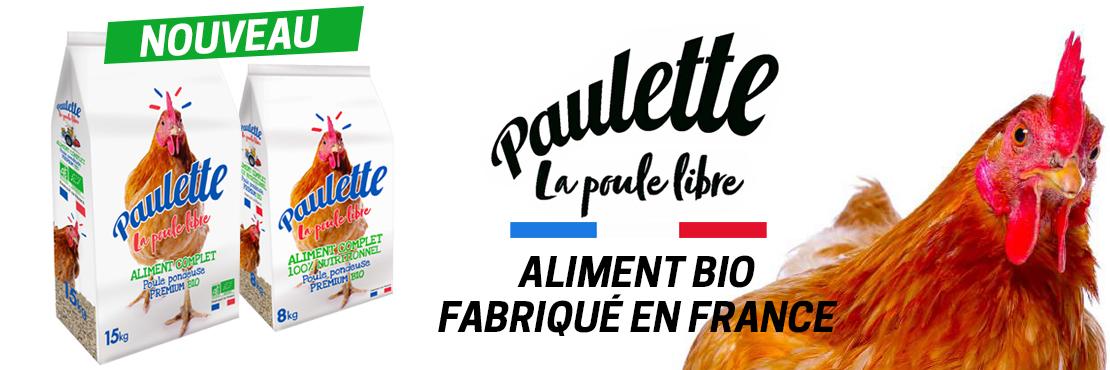 Aliments Bio Paulette la Poule Libre