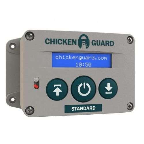 Portier électronique pour porte poulailler Chickenguard